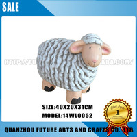 Custom Life Size Resin Sheep For Garden Decoration