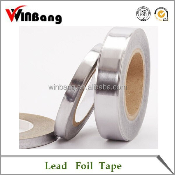 China Manufacturer High Quality Lead Foil Adhesive Tape