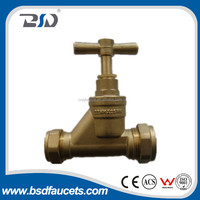 Product Made in China Forged brass Globe stop angle valve Shut-off valve water check valve