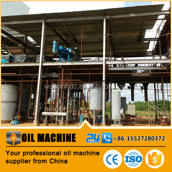 Palm oil refinery plant crude palm oil fractionation process, plam olein and stearin making plant