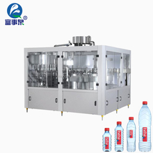 Factory direct automatic complete no-gas drinking mineral water 3in1 filling machine
