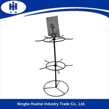 metal rotating jewelry display stand
