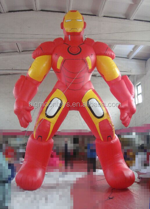 giant inflatable Iron Man/ inflatable advertising Iron Man/ customized inflatable Iron Man for advertising