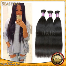 Natural balck straight hair and hair/ Vietnam raw remy virgin human hair bulk