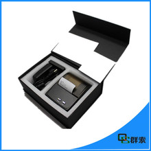 QS8001 New 80mm barcode label printer support QR code thermal sticker printers used for supermarket business