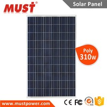 300 Watt PV manufacturer Technology Good Quality MUST Poly Solar Panel