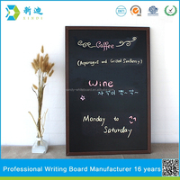 new cheap double side cafe blackboard for bar 40*60cm 15.75*23.62 inches