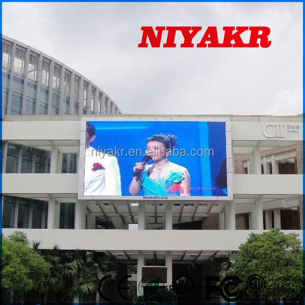 Niyakr 2015 New Products P10 Free China Xxx Video/Xxxx Movies P10 Outdoor Led Display In Alibaba