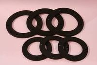 OEM Environment-friendly custom mold rubber component/small rubber parts