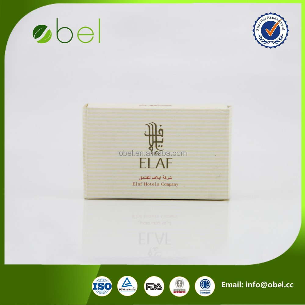 hotel promotional home indoor pine tar soap