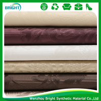 sofa fabric price per meter flower pattern, retro luxurious style fabric for sofa, leather fabric furniture