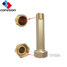 Water meter endtails for DN15-DN50 brass water meter fittings