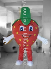 Red strawberry mascot costume/farm mascot/plant mascot