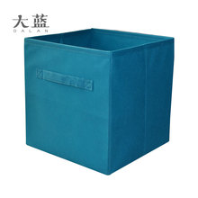 Foldable Nonwoven fabric cardboard ornament storage boxes