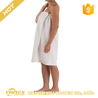 100% natural cotton or bamboo soft feeling terry cloth warm cheap wholesale spa towel wrap