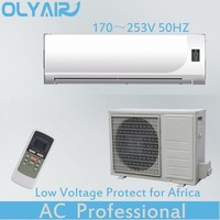 With low voltage protect high wall air conditioner