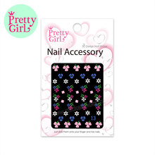 Mixed Designs 2D/3D Nail Stickers Water Transfer Nail Art Sticker Watermark Decals F13
