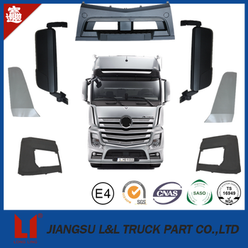 high quality truck plastic bumper for mercedes benz actros mp2/mp3/mp4