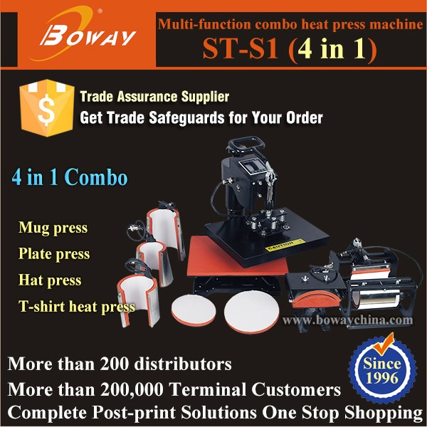 ST-001B-1 Pneumatic Automatic Large Double Station Sublimation Flatbed Ceramic Hot Transfer Printer