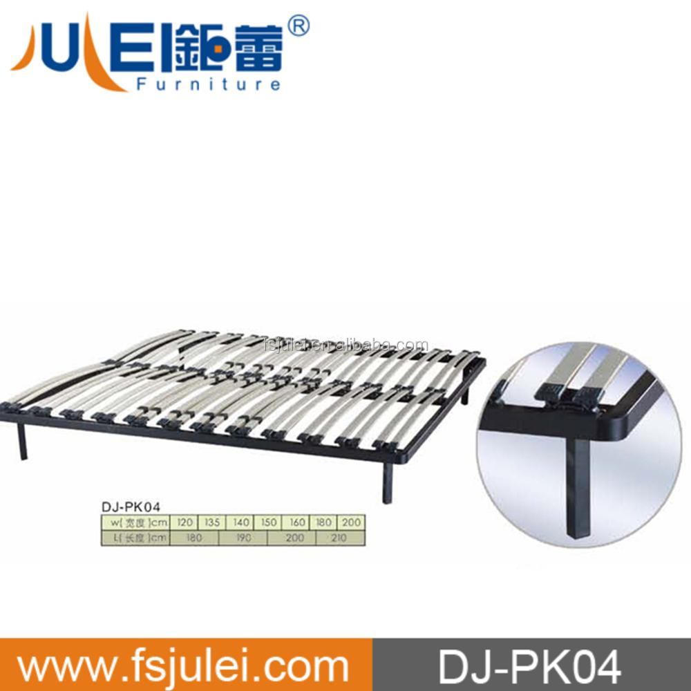 modern knock down wood & metal bed furniture DJ-PK04