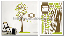 Big Tree Self Adhesive Printing Wall Sticker