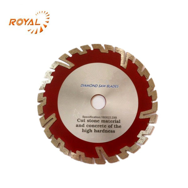 Segmented cold pressed dry cutting diamond saw blade