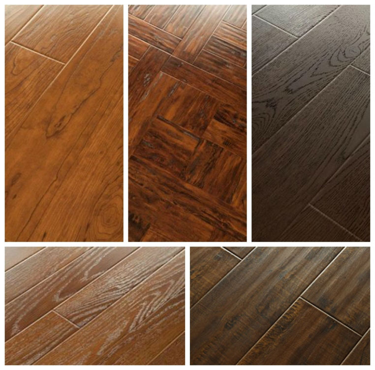 SH wax water resistant laminate flooring