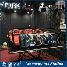 cheap motion 5d Cinema 7d simulator dynamic game rides for sale