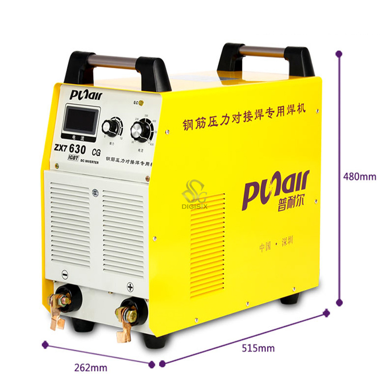 ZX7630CG inverter manual electric welding machine industry butt welding of 5 380V long special electrode