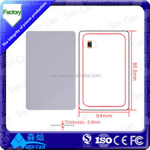 Factory discount price 1.8mm thickness proximity rfid cards/rfid transponder/badge