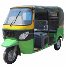 New Model 3 Wheel Motorcycle For Passenger, Petrol Tricycle Tuktuk, 1.35m Cabin 3 Passenger Seat Taxi