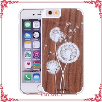 manufacturer wholesale wood mobile phone case for iphone 6s