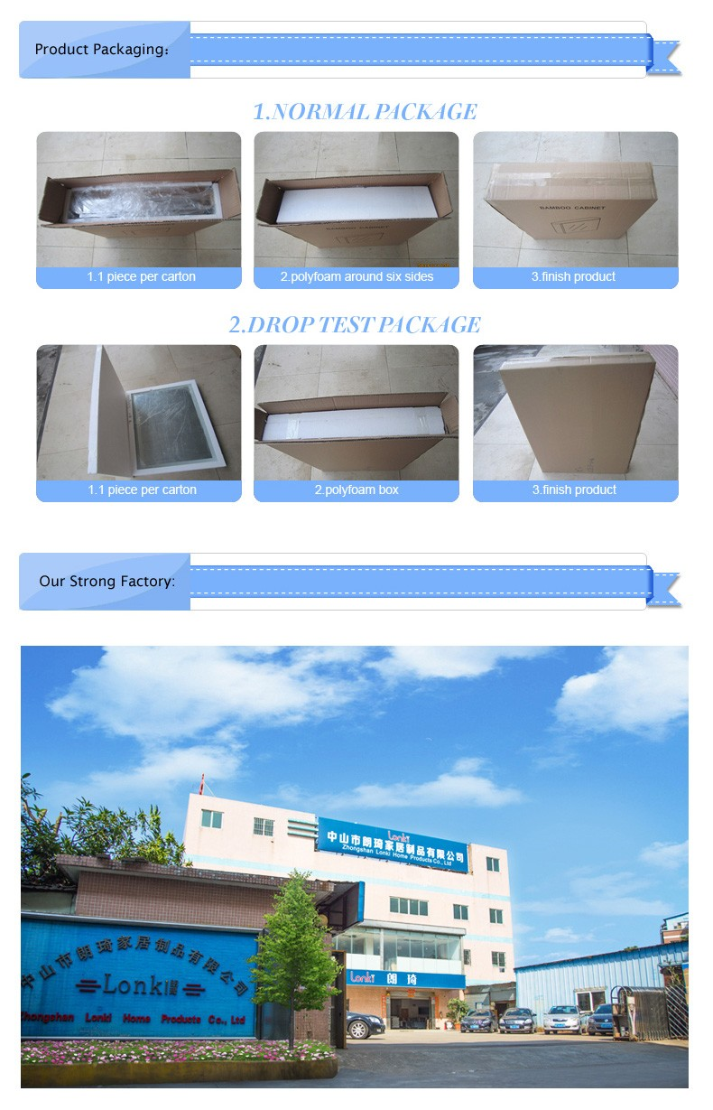 Stainless steel framed mirror cabinet bathroom dressing mirror cabinet with tooth brush holder customize storage cabinet
