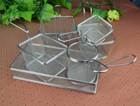 Mini Square Metal Strong & Durable Fry Basket For Deep Fat Fryer
