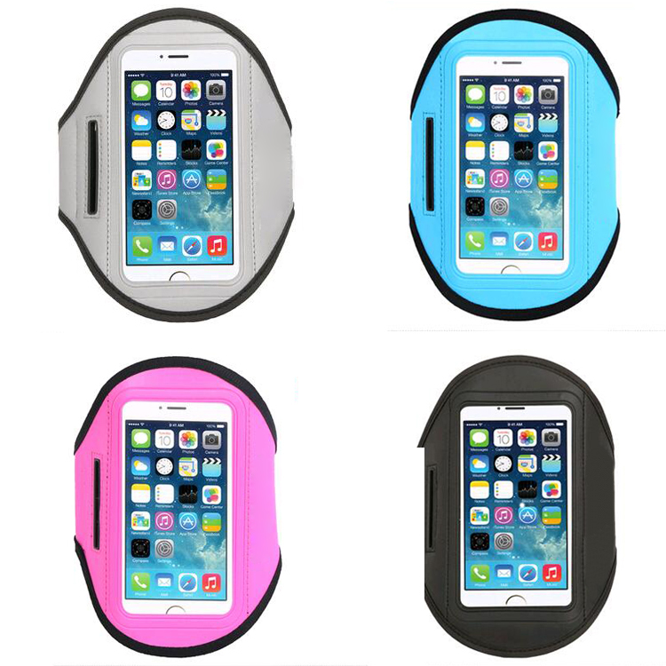 running neoprene armband for iphone 5 sport armband