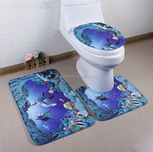 door mat china suppliers wholesale bathroom mat, easy to clean,waterproof,corrosion-resistant three piece suit toilet carpet