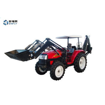 2018 Hot Made in China DQ404 40hp 4WD Mini Tractor with loader for Tanzania