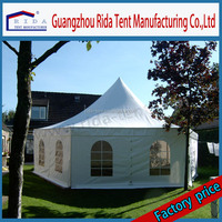 New Stylish Outdoor Metal Roof Pagoda Tent Canopy Used