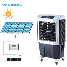 Vankool Low frequency 12v 24v dc solar air conditioner 6000m3/h home used cooler <strong>fan</strong>