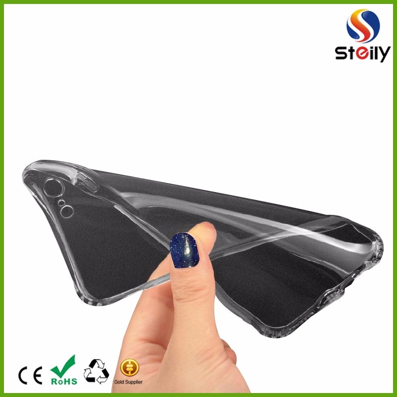 Transparent TPU Phone Cases TPU Case for IPhone 7 Drop Resistance Mobile Shell For iPhone 7 Plus