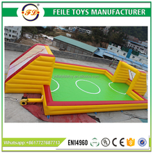 2017 High quality inflatable soap football field