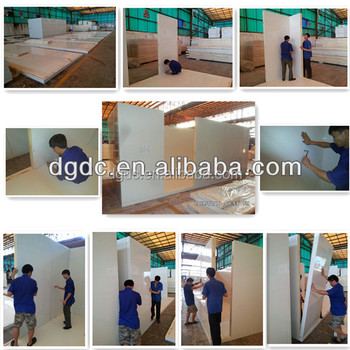 Cold room insulation PU panels