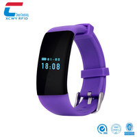 Customize language water proof dual sim card MIFARE Classic 1K S50 free hand smart watch mobile phone