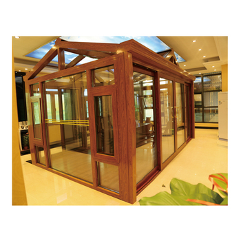 Hign quality prefabricated factory design lowe sunrooms