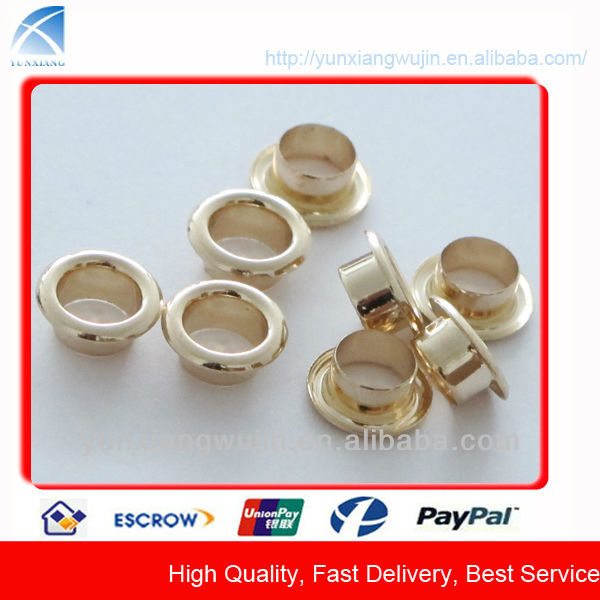 YX-32 brass eyelets for shoes, garment, handbags