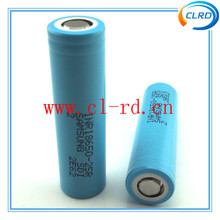 2015 new e-cig mod battery samsung INR18650-25R 2500mah 35amp powerful