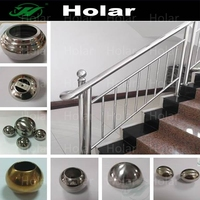 304 hollow stainless steel ball joint handrail accessories