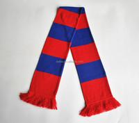 2016 Newest Football Fan Knitted Scarf 100% Acrylic Neckwear