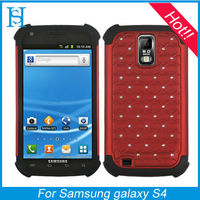 Diamond Hard & Soft Rubber Hybrid Case for Samsung Galaxy S2 T989 (T-Mobile)