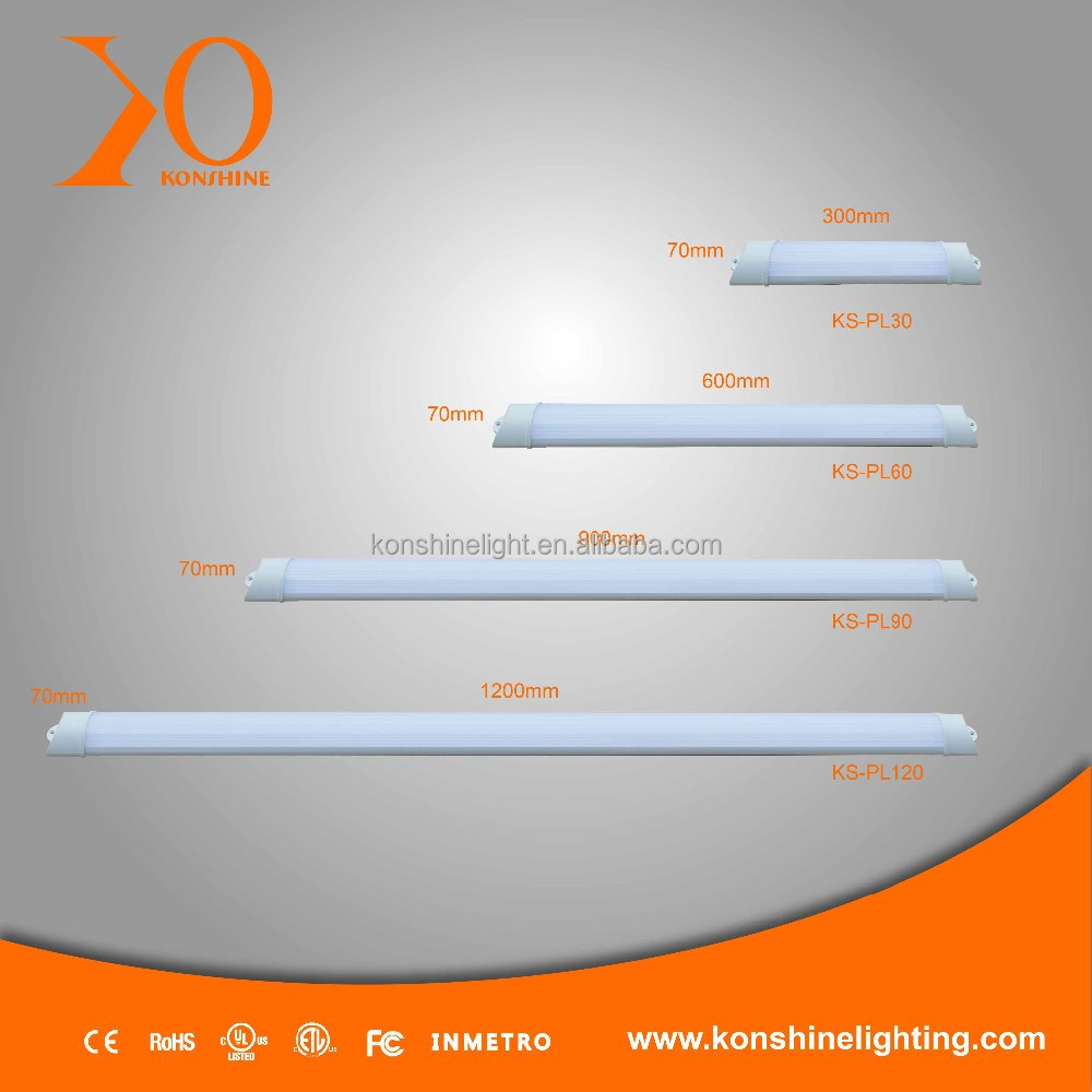 SMD 2835 9W Led linear batten light,